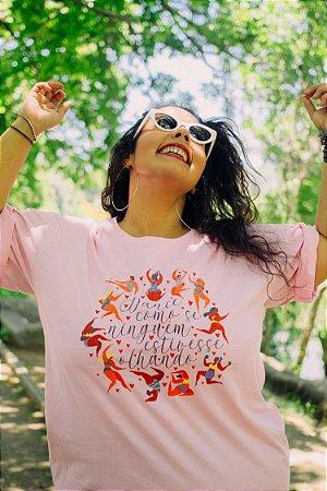 Camiseta Dance como se ninguém estivesse olhando