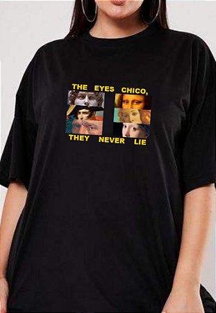 Camiseta Olhos de Chico