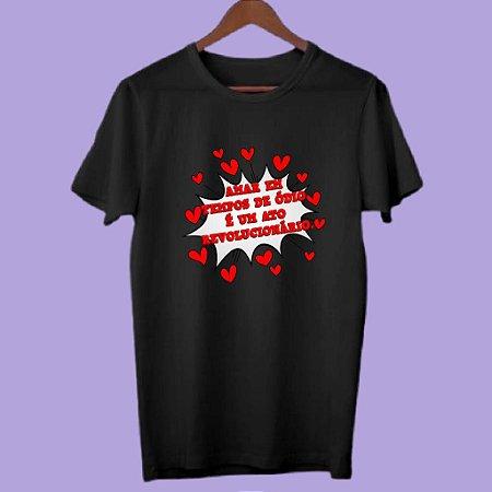 Camiseta Amor em tempos