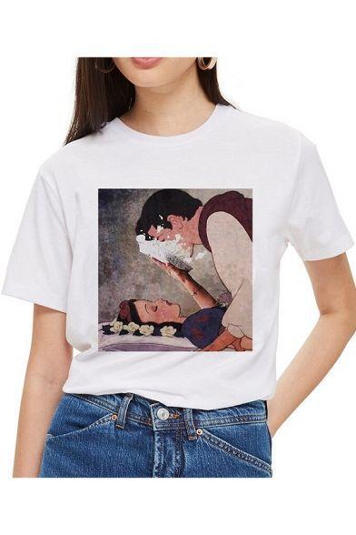 Camiseta Branca de Neve