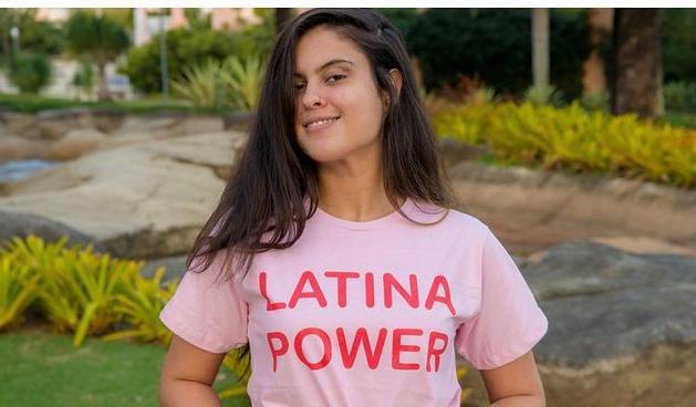 Camiseta Latina