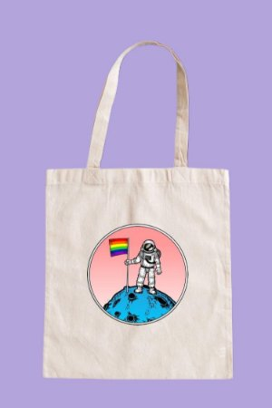 Ecobag Astronauta Pride