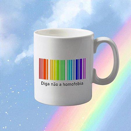 Caneca Diga não a homofobia