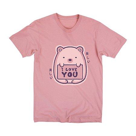 Camiseta Unissex I Love You