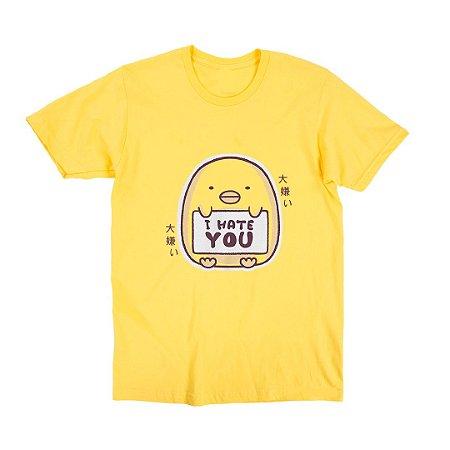 Camiseta Unissex I Hate You