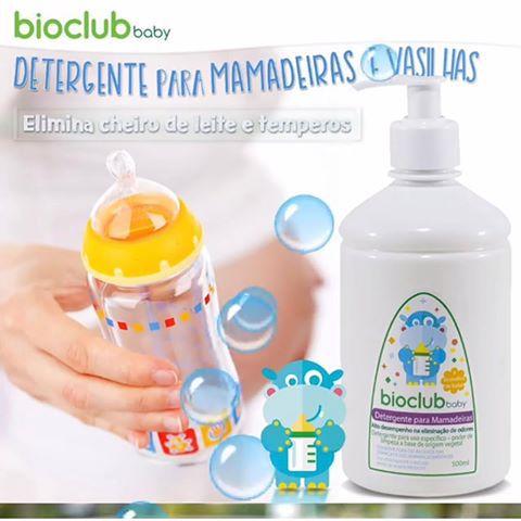 Detergente Para Mamadeiras Bioclub Baby 500ml