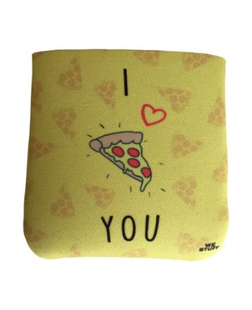 BAG DE PROTEÇAO PARA POWERBANK I LOVE PIZZA