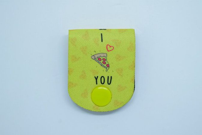 ORGANIZADOR DE FIOS I LOVE PIZZA