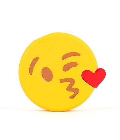 "CARREGADOR PORTATIL ""POWERBANK"" EMOJIS KISS"