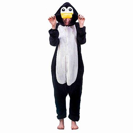 Pijama Kigurumi Pinguim