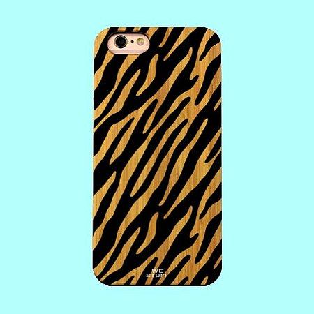 """Capa para Celular """"Case"""" Tiger Bambu"""