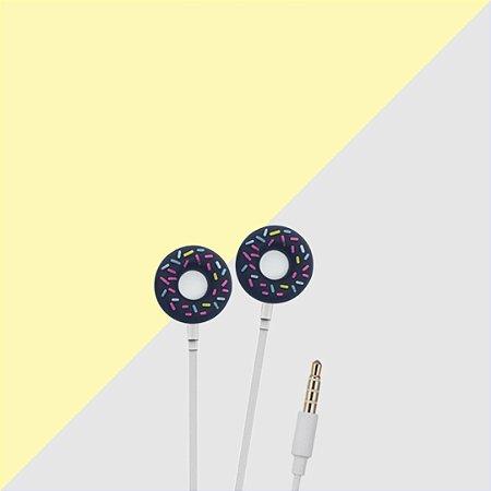 Fone de Ouvido de Donuts