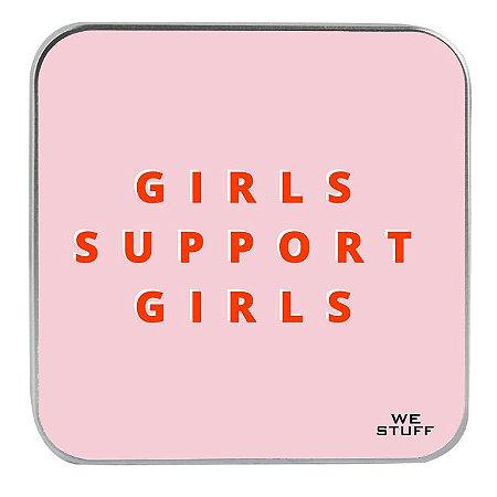 """Carregador Portátil """"Powerbank"""" Girls Support Girls com 7.800 mAh"""