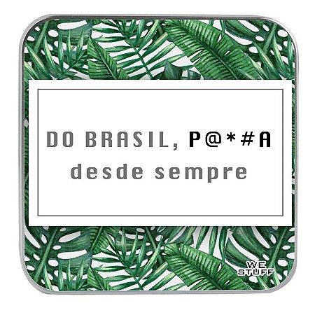 "CARREGADOR PORTATIL ""POWERBANK"" STYLE É BRASIL COM 7.800 mAh"