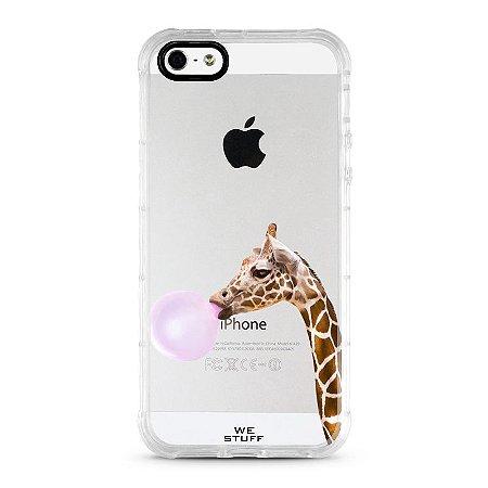 """Capa para Celular """"Case"""" Girafa de TPE"""