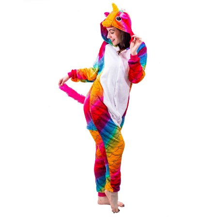 Pijama de Unicórnio Sereia