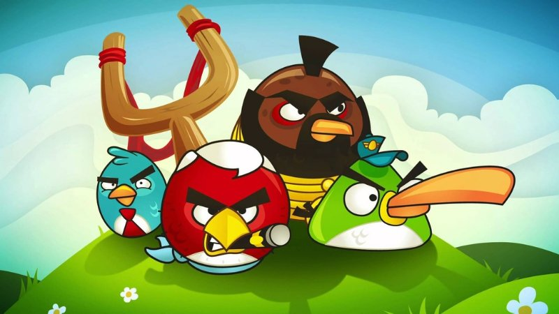 ANGRY BIRDS 006 A4