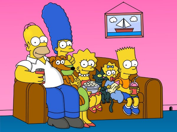 SIMPSONS 001 A4