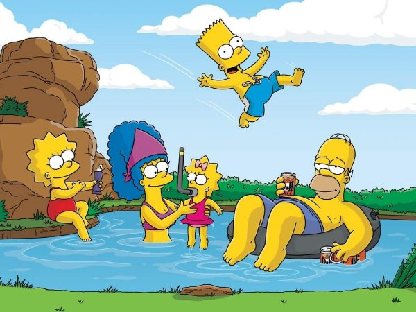 SIMPSONS 005 A4