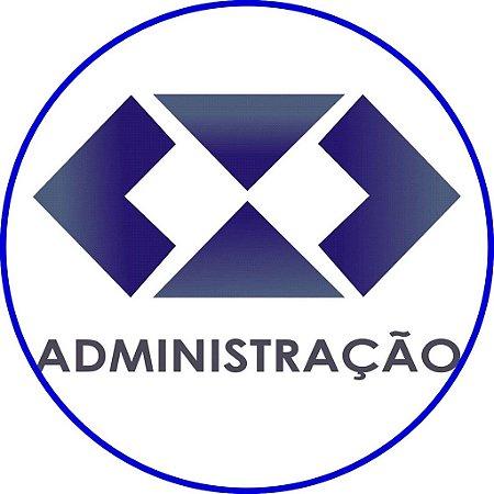 ADMINISTRAÇÃO LOGOMARCA 001 19 CM