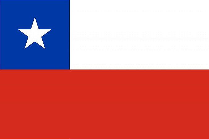 BANDEIRA CHILE A4