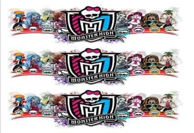MONSTER HIGH FAIXA LATERAL 001 A4