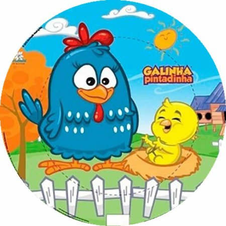 GALINHA PINTADINHA 021 27 CM