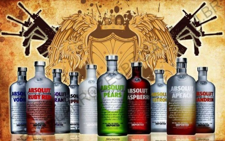 VODKA ABSOLUT 003 A4