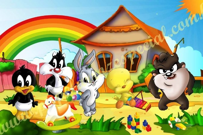 LOONEY TUNES BABY 001 A4