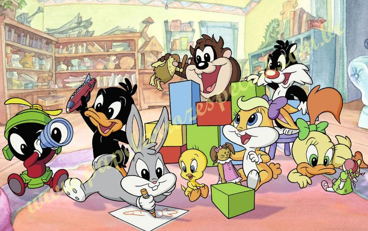 LOONEY TUNES BABY 002 A4