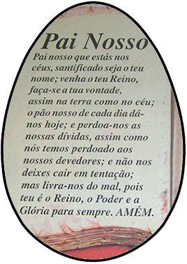 OVO COLHER PAI NOSSO 001 (02 UNIDADES) 500G