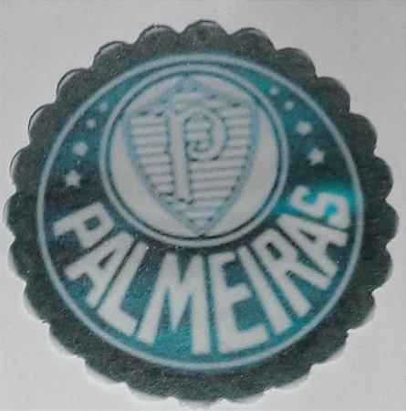 PALMEIRAS 001 MEDALHAO 5 CM - 15 UNIDADES CORTADO