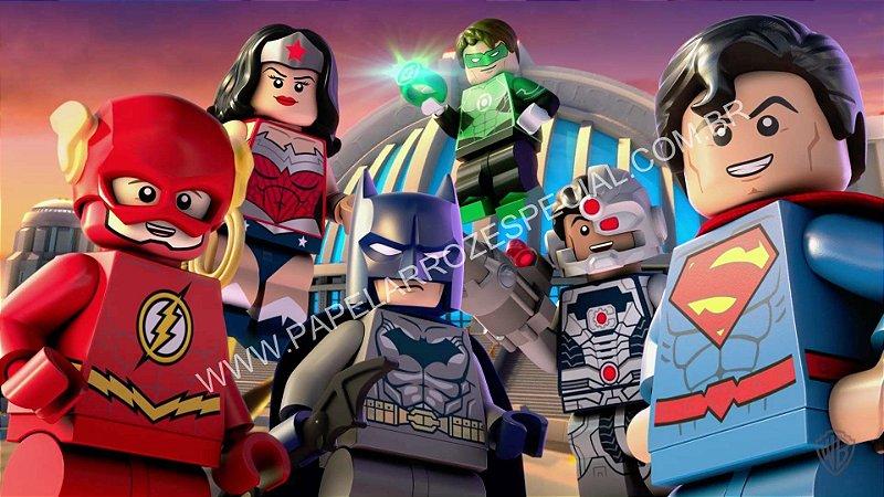 LIGA DA JUSTIÇA LEGO 001 A4