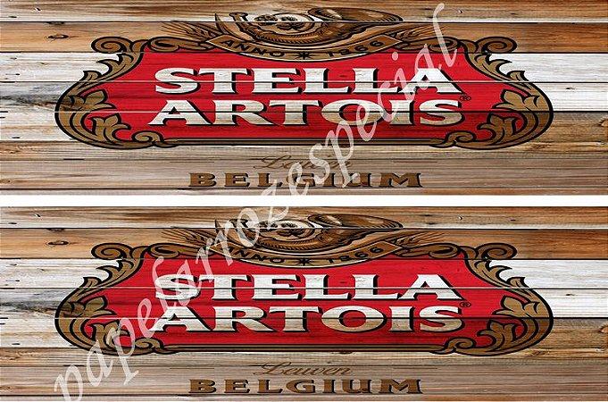 STELLA ARTOIS FAIXA LATERAL 002 9 CM