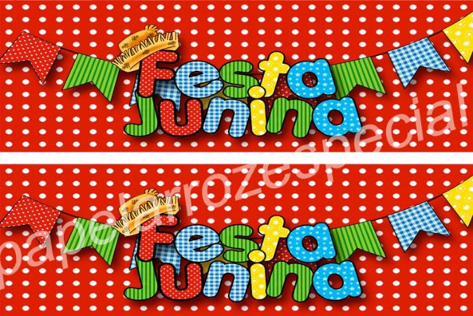 FESTA JUNINA FAIXA LATERAL 001 9 CM