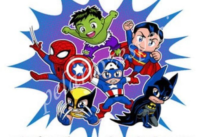 SUPER HEROIS BABY 004 A4
