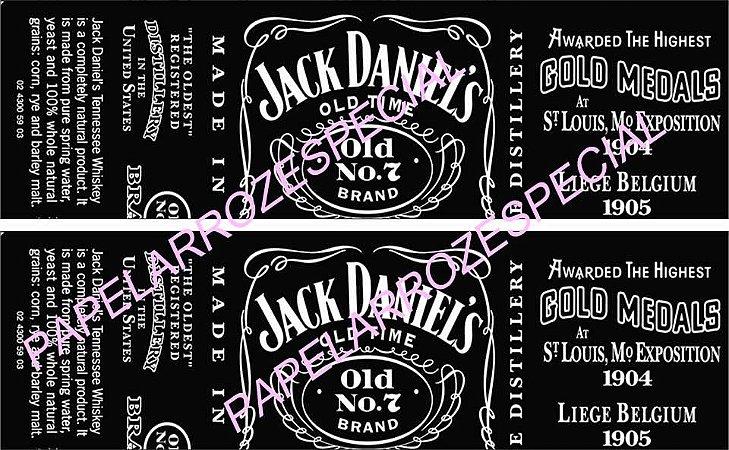WHISKY JACK DANIELS FAIXA LATERAL 9 CM