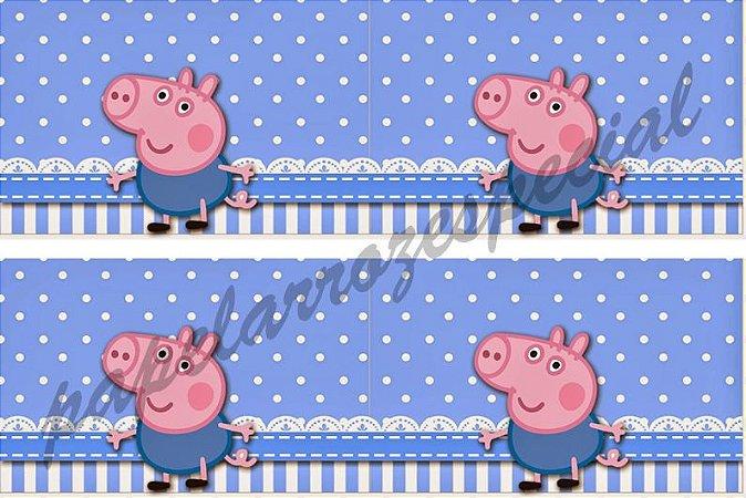 GEORGE PIG FAIXA LATERAL 001 9CM