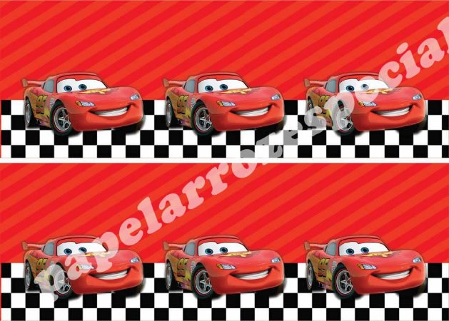 CARS FAIXA LATERAL 003 9 CM