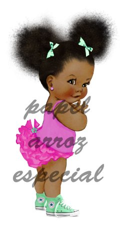 BEBE BLACK POWER 002 MODELO 2 (27CM) A4
