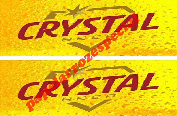 CRYSTAL FAIXA LATERAL 002 9 CM