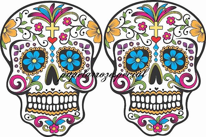 CAVEIRA MEXICANA 003 19 CM (02 IMAGENS)