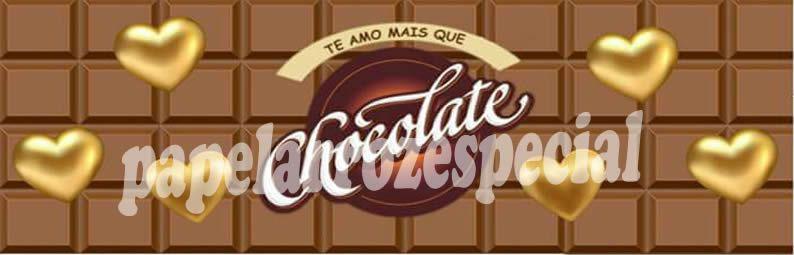 CHOCOLATE FAIXA LATERAL 001 9 CM