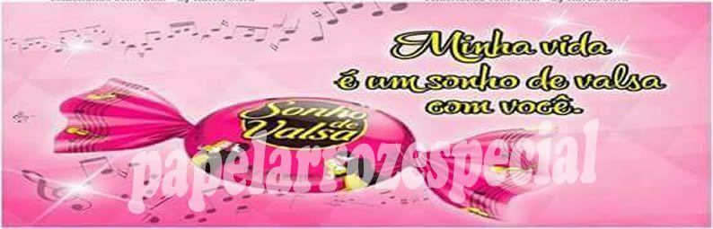 SONHO DE VALSA FAIXA LATERAL 001 9 CM