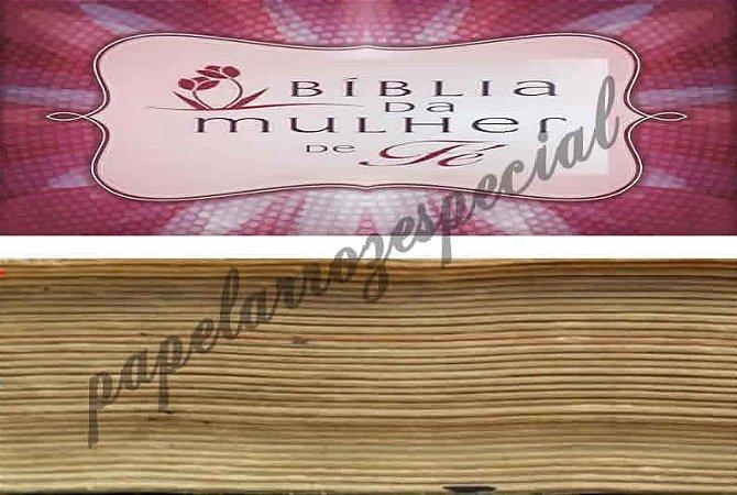 BIBLIA SAGRADA 014 FAIXA LATERAL 9 CM