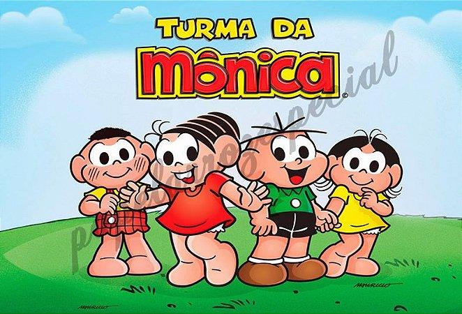 TURMA MÔNICA 008 A4