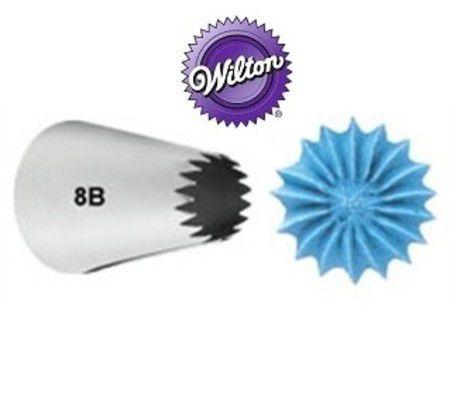 BICO CONFEITAR WILTON 8B - PITANGA ABERTA GRANDE
