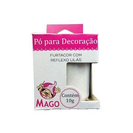 PÓ DECORAÇÃO MAGO FURTACOR COM REFLEXO LILAS 10G