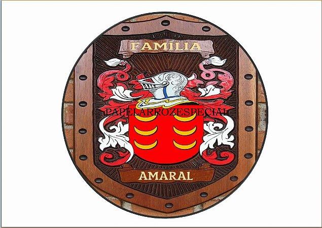 BRASÃO DA FAMILIA AMARAL