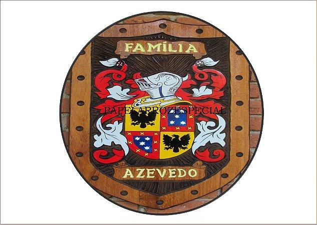 BRASÃO DA FAMILIA AZEVEDO